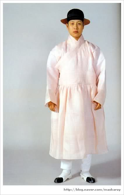 Men's Goryeo hanbok