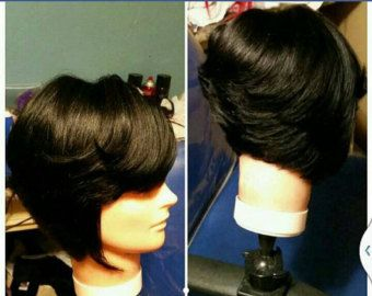 shag hair style 17 best ideas about feathered bob on black bob 1188