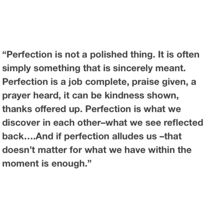 Call the Midwife Perfection Quote