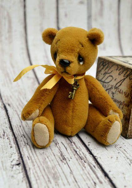 Artist Teddy Bear miniature by By Krishchenko Nadya   Bear Pile
