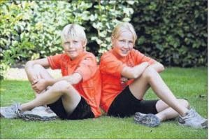 Nederlandse Cystic Fibrosis Stichting - Jolijn en Joris lopen halve marathon