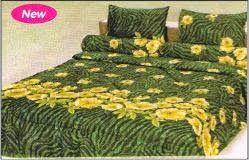 #Bedcover #FATA Collection #JungleGreen from #IGo4BedCover   JUNGLE GREEN  Ukuran Sprei 180 x 200 cm Ukuran sprei No. 1 (Satu) Ukuran sprei Queen atau Ukuran Sprei Double Harga : Rp 300.000.00,- ( harga belum termasuk ongkos kirim ) Untuk Pemesanan Lihat halaman #IGo4Bedcover berikut https://www.facebook.com/notes/igo4-bedcover/cara-pemesanan/1374629126111701