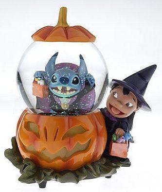 Disney Lilo and Stitch Snowglobe, Disney Snowglobes Collectibles