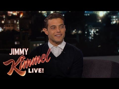 Rami Malek Ran Into Ex Immediately After Winning the Emmy - YouTube