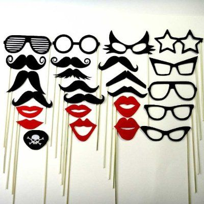 diy photo booth ideas   Wedding Photo Booth Props on Ideas For Wedding Favors More Photo Prop ...