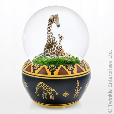 snow globes with animals - Google Search