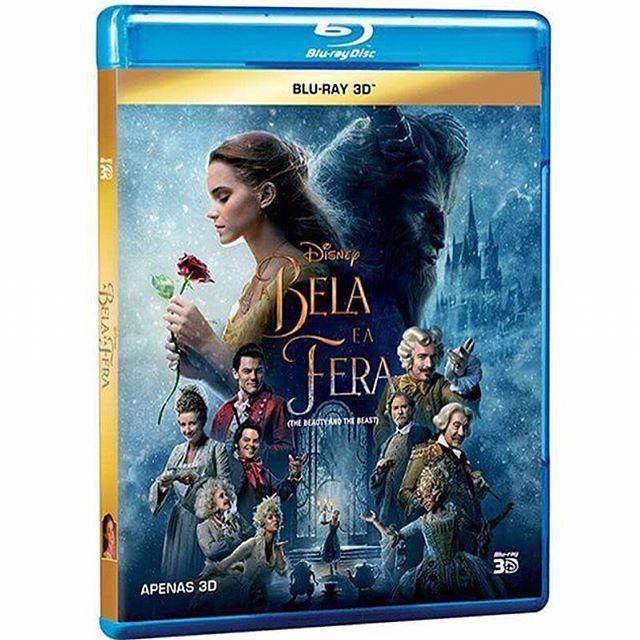 """#abelaeafera2017  A Disney Brasil vai lançar no dia 29 de Junho, o DVD, o Blu-ray e o Blu-ray 3D da versão live-action de """"A Bela e a Fera"""" (Beauty and the Beast)  . - Quem aqui já tá ansioso para rever mil vezes o filme e conferir os extras ?? #disney #abelaeafera #emmawatson #danstevens #disneybrasil . . . . . . #belaeafera #belaefera #filme #princesa #disneymovie #labellaylabestia #abelaeomonstro #beautyandthebeast #belle #beast #princess #princessbelle #princessdisney #movie #be..."""