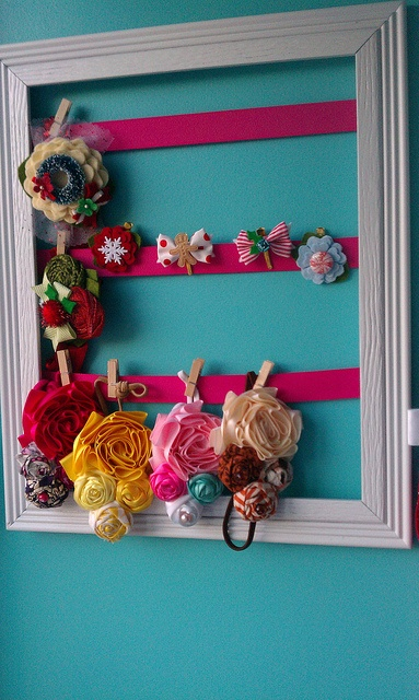 DIY hair bow and head band holder