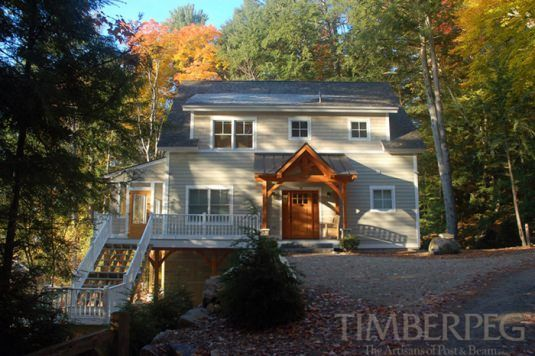Center Harbor, NH (T00463) Floor Plan | Timberpeg Post and Beam Homes