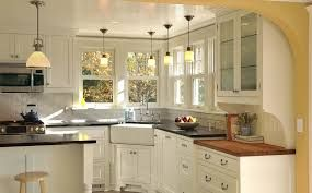 kitchen dark floors white cabinets black granite counters - Google Search