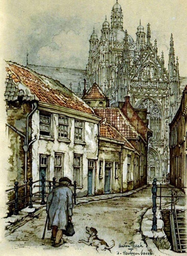 Illustration by Anton Pieck