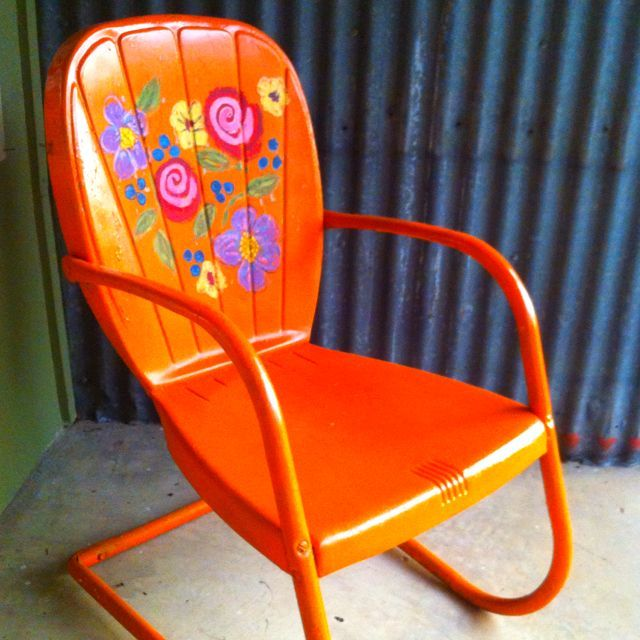 I need to paint my chair