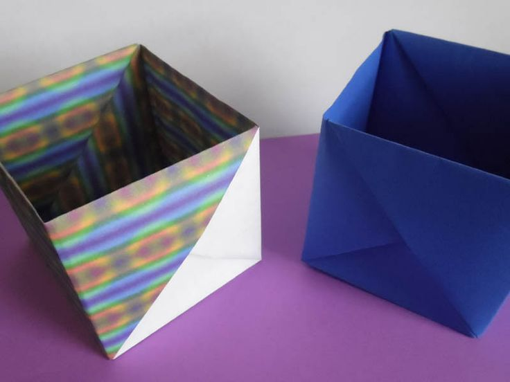 232 best origami inspiration images on pinterest paper crafts learn how to fold a simple origami masu gift box sciox Choice Image