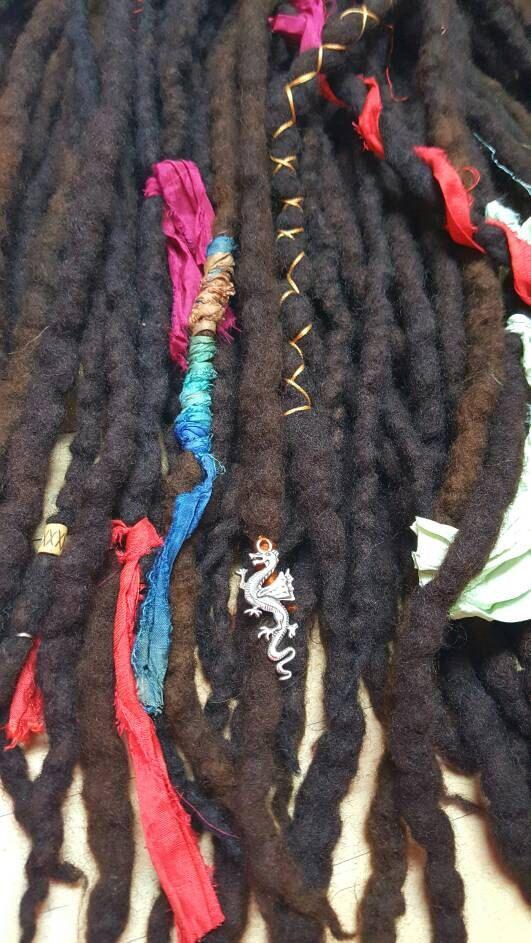 The 451 Best Wool Dreadlocks Custom Wool Dreads Handmade Hippie