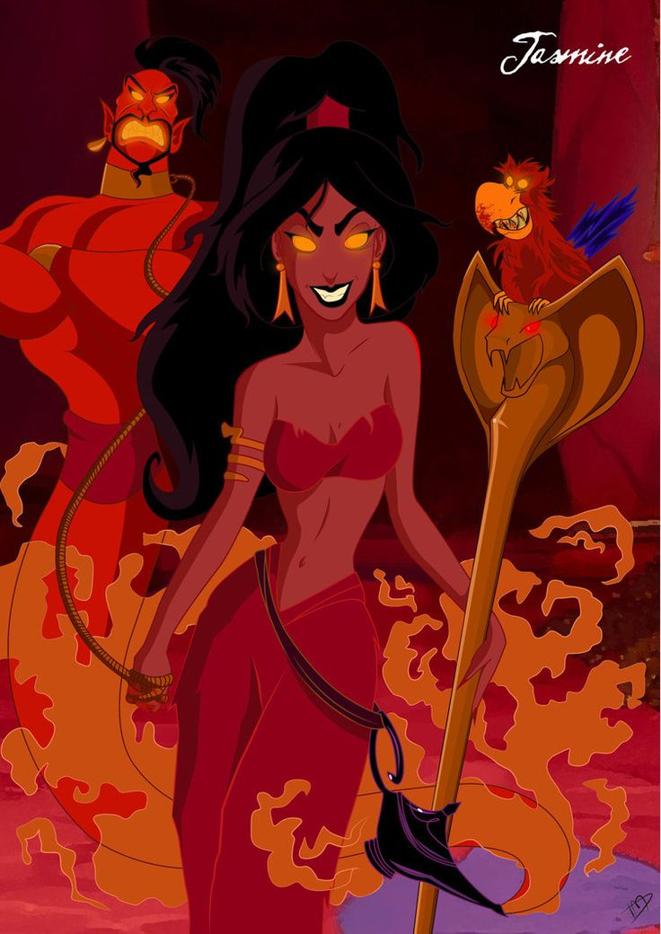 Twisted Disney Princesses deviantART | Twisted Jasmine by Kasami-Sensei on deviantART