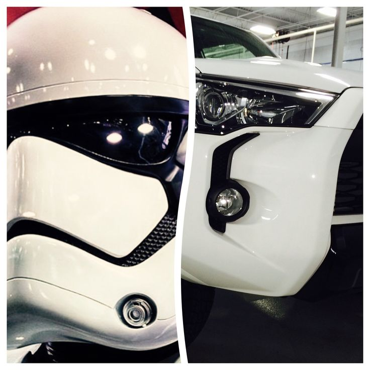 Uncanny - 4Runner TRD Pro and the new Storm Trooper!!