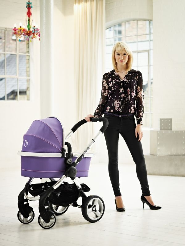 Coming Soon!  iCandy Peach Pushchair with Carrycot in Parma Violet
