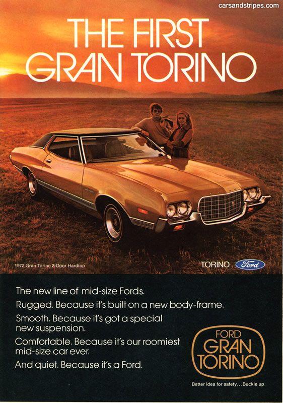 1972 Ford Gran Torino - The first Gran Torino - Original Ad