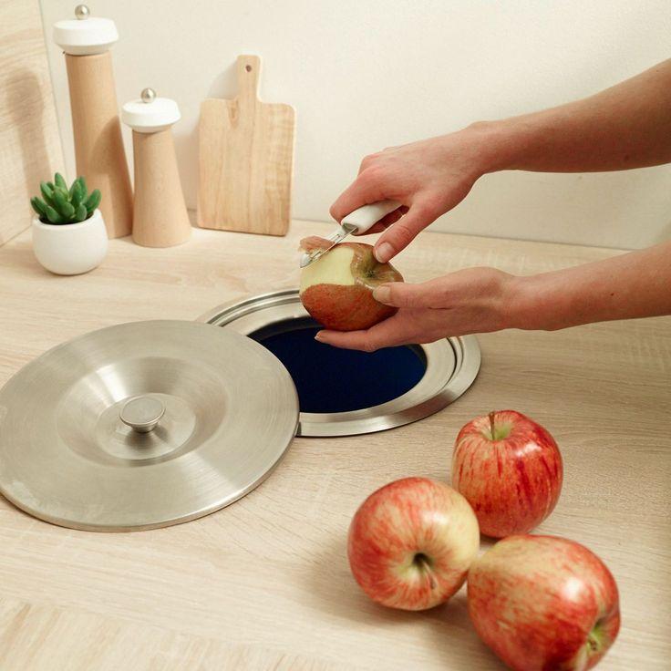 Bien-aimé Les 25 meilleures idées de la catégorie Poubelle cuisine  RE16