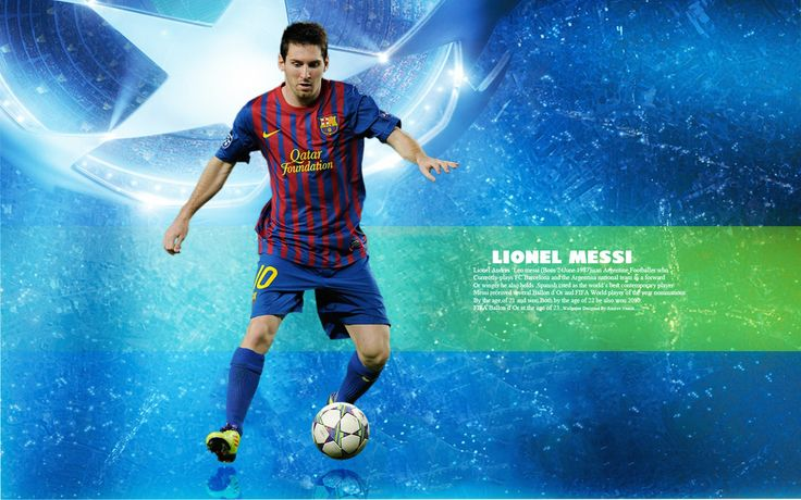Lionel Messi HD Wide Background Wallpaper - http://www.wallpapersoccer.com/lionel-messi-hd-wide-background-wallpaper.html