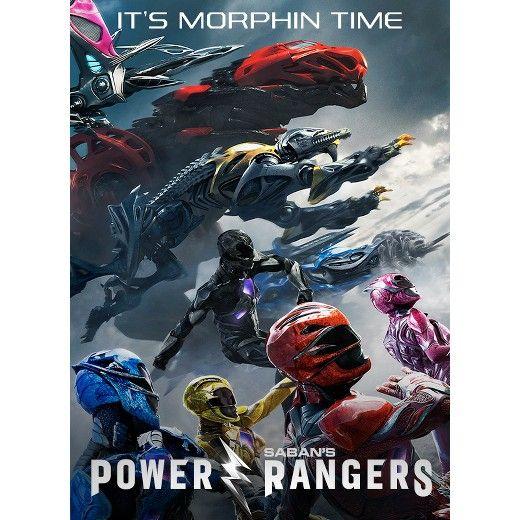 Saban's Power Rangers (DVD - 6/27/17)