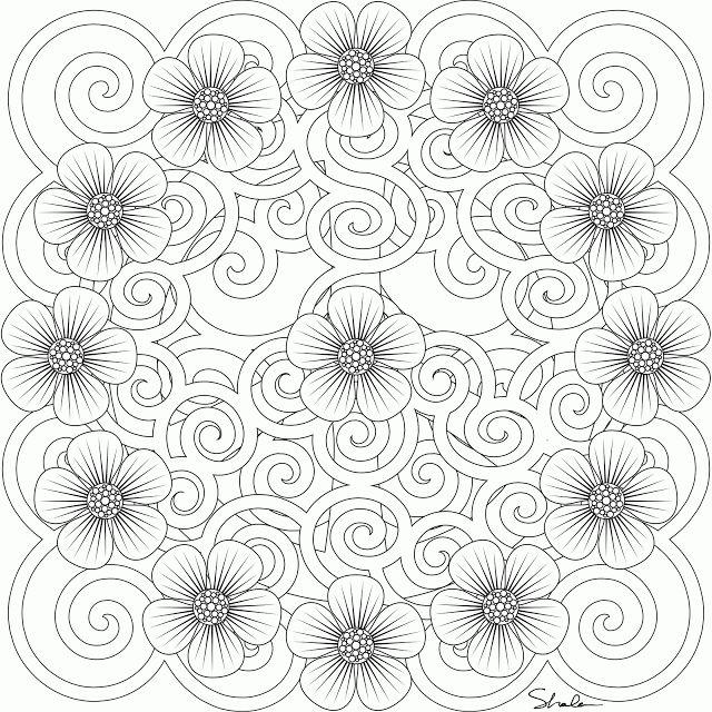 25 Unique Mandala Printable Ideas On Pinterest