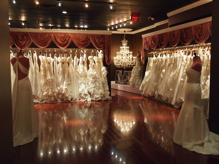 Winnie Couture Flagship Bridal Salon Atlanta. Showroom