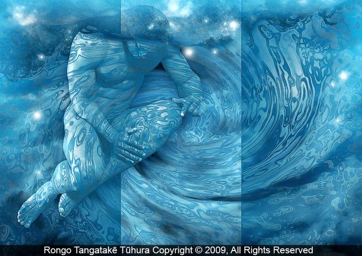 Above the Earth RONGO.TANGATAKE.TUHURA CONTEMPORARY MAORI ARTIST