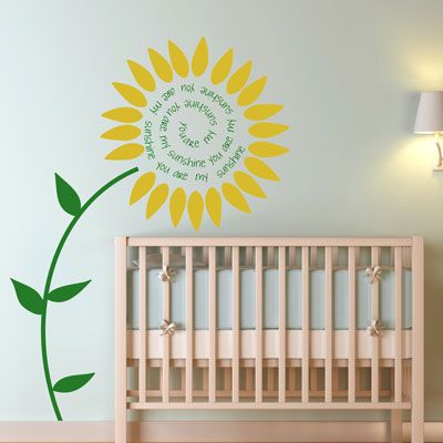 I Want This Sunflower In My Kitchen