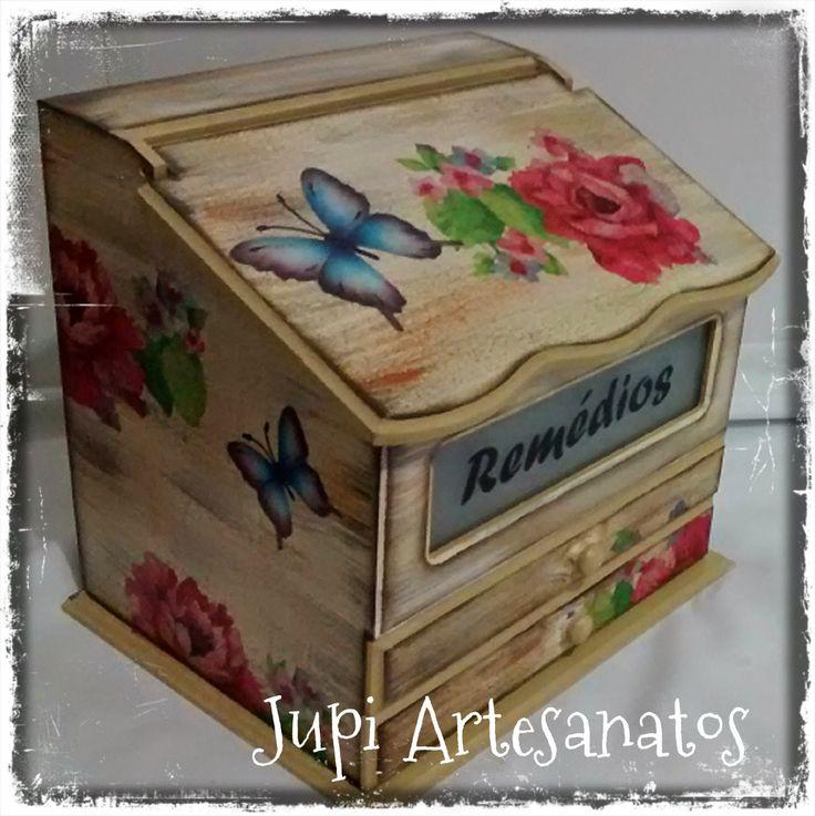 Jupi Artes: Porta Medicamentos