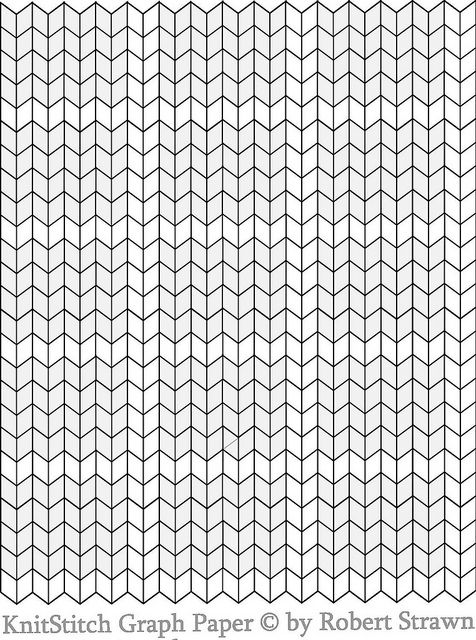 Knit stitch Graph Paper, via Flickr