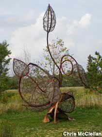 Franconia Sculpture Park.