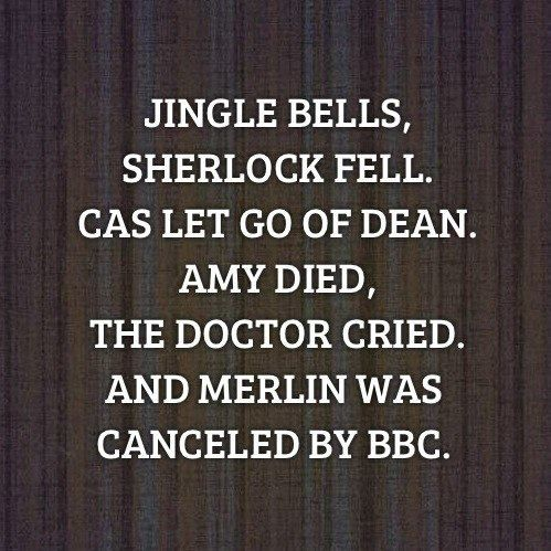 People. Merlin was NOT canceled by BBC. The creators started Season 1 with 5 seasons in mind. Why does nobody get this? -_- Two This is beautiful and sad at the same time!  <- - - yes.