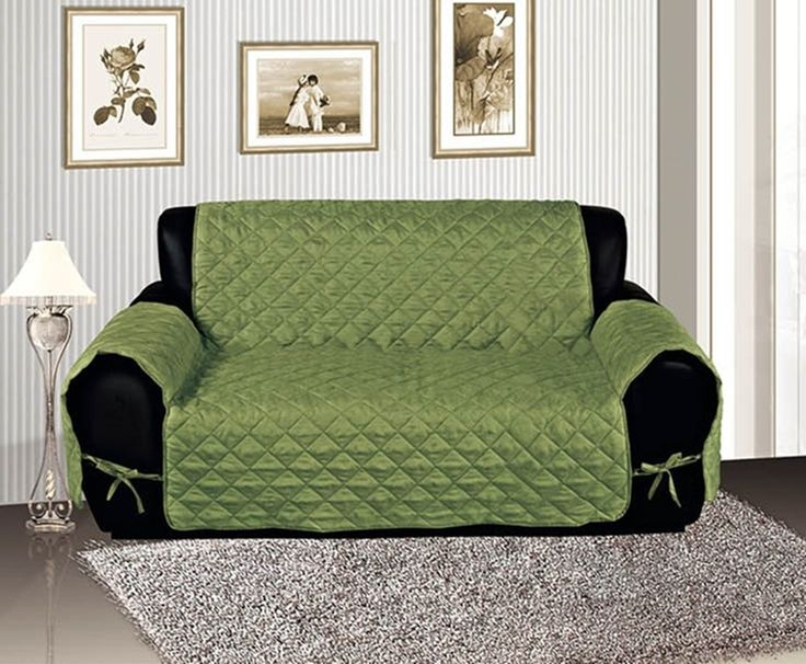 Amazon Com Sage Quilted Micro Suede Pet Dog Couch Sofa