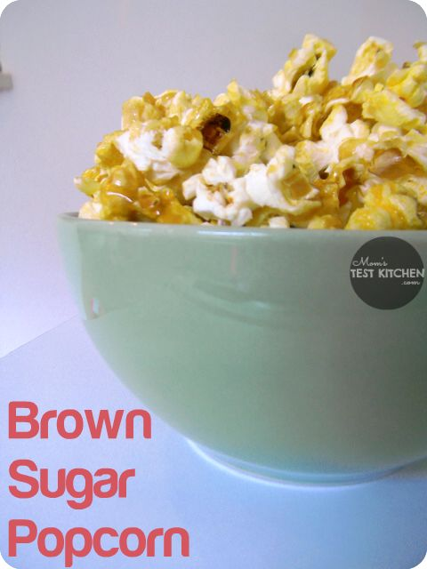 Mom's Test Kitchen: Brown Sugar Popcorn - Life After Laundry