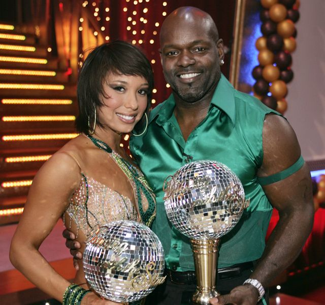Emmitt Smith and Cheryl Burke....another couple that I loved.