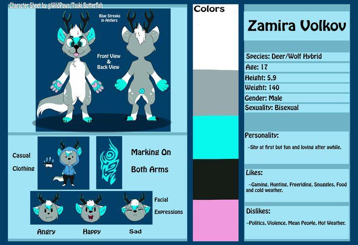 Zamira Reference Sheet