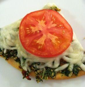 Three Cheese Pesto Pizza - Gluten Free