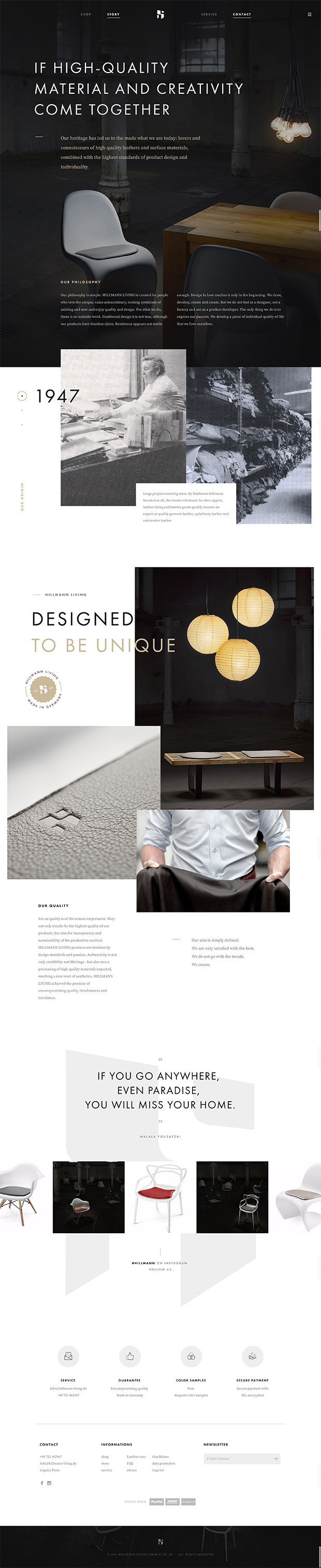 Best About Pages – Showcasing the best of the best about page examples on the web » Hillmann Living