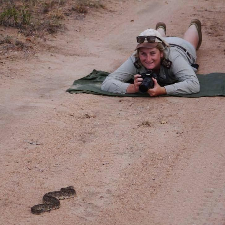 wildearthgirl @wildearthgirlie  Big welcome to Tayla #SafariLive