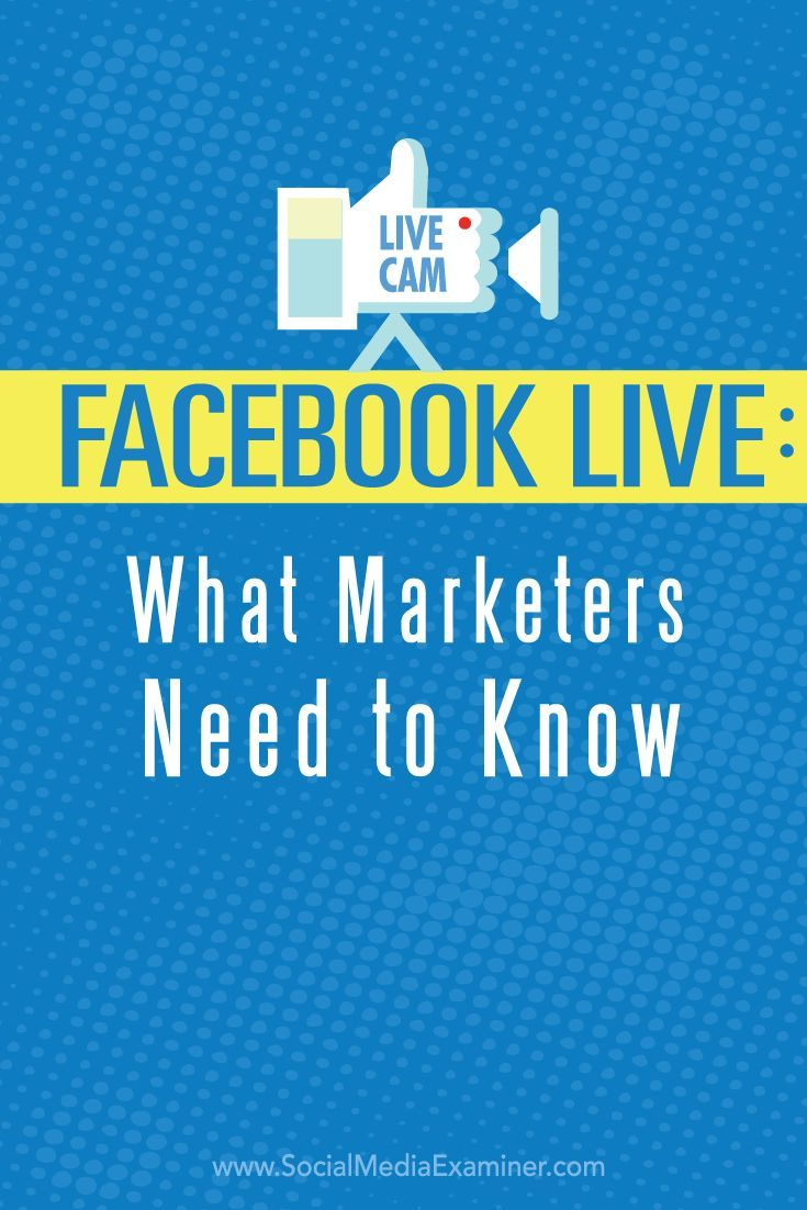 Have you heard of Facebook Live video?  Facebook Live lets you connect with your fans, friends and followers by sharing real-time video of what youre seeing and doing.  In this article youll discover how to broadcast with Facebook Live and use Live vide