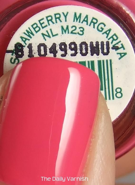 OPI Strawberry Margarita. In other words the best pink