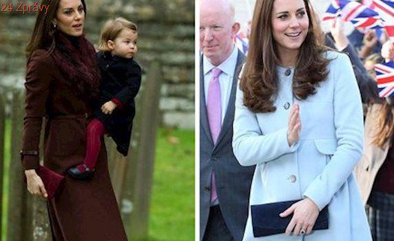 Inspirujte se kabáty, které nosí vévodkyně Kate. Který je nejhezčí?