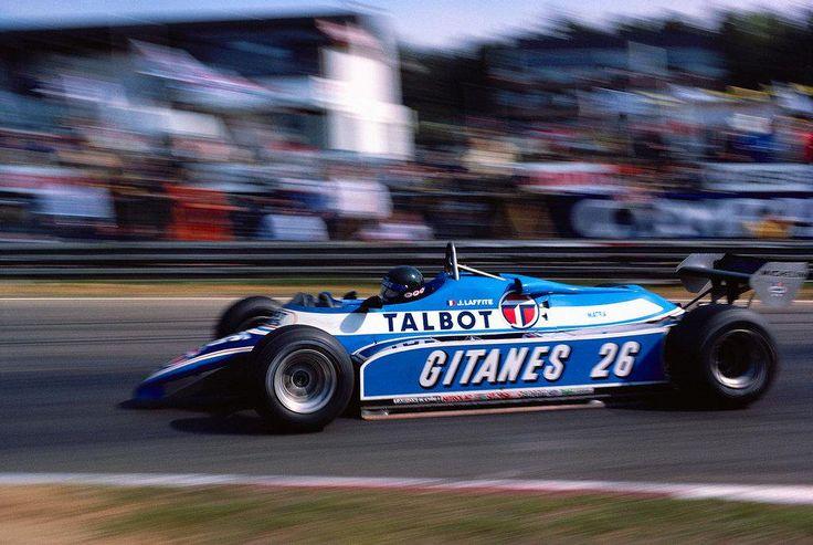 Jacques Laffite (Belgium 1982) Circuit Zolder #F1