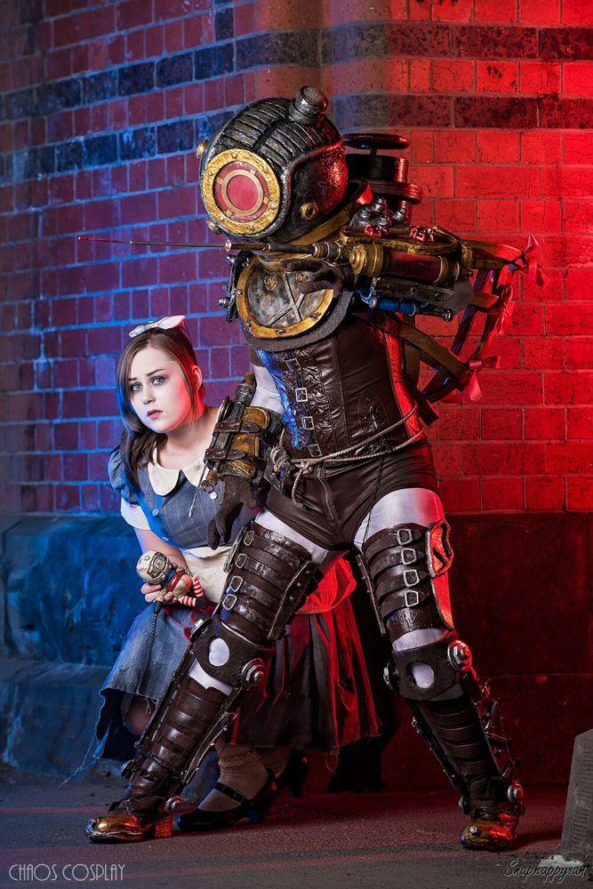 Bioshock Big Sister + Little Sister by Samii-Doll on ...  Bioshock