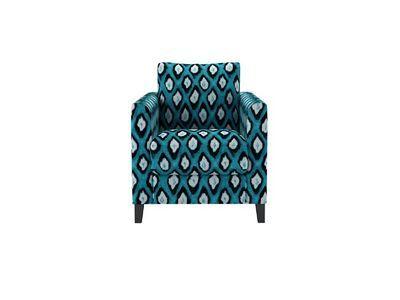izzy armchair in teal Mariska Meijers electric ikat - http://sofa.s.tomandco.co.uk/shop/sofas/izzy/customize/size/110/fabric/MSKEIT/