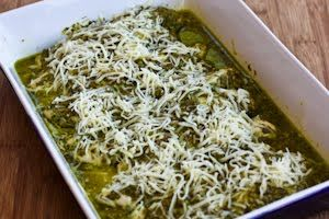 Kalyn's Kitchen®: Easy Recipe for Baked Pesto Chicken (LowCarb, GlutenFree)