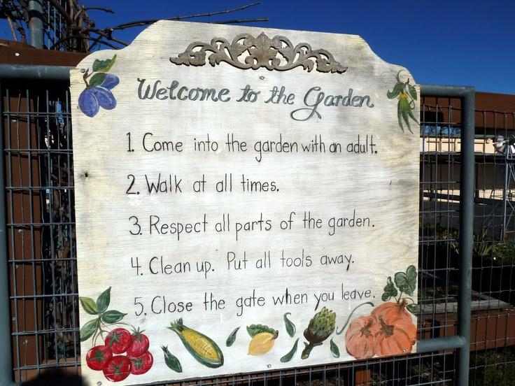 Classroom Garden Ideas ~ Best images about school garden signs on pinterest