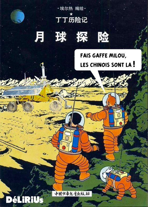classé dans Objectif Lune & On a marché sur la lune. tintin