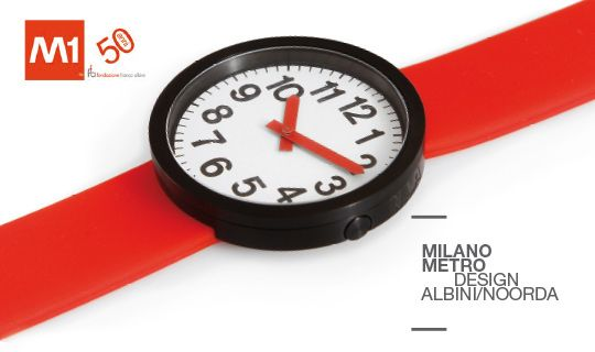 Metro, the First Wristwatch Inspired by Noorda Design